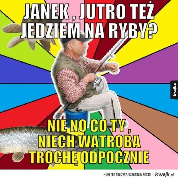 Zobacz najlepsze memy o wędkarzach!