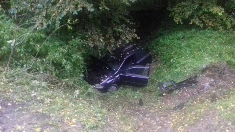 Do zdarzenia doszło w poniedziałek na drodze wojewódzkiej nr 884 w pobliżu miejscowości Wapowce pod Przemyślem. Kierujący fiatem stilo jadąc w kierunku