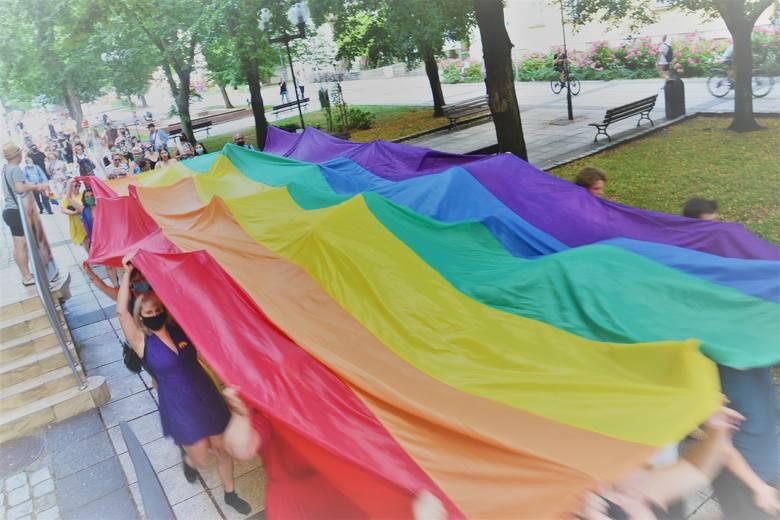 Solidarni z Margot. Manifestacja w Zielonej Górze odbyła się w sobotę, 8 sierpnia.