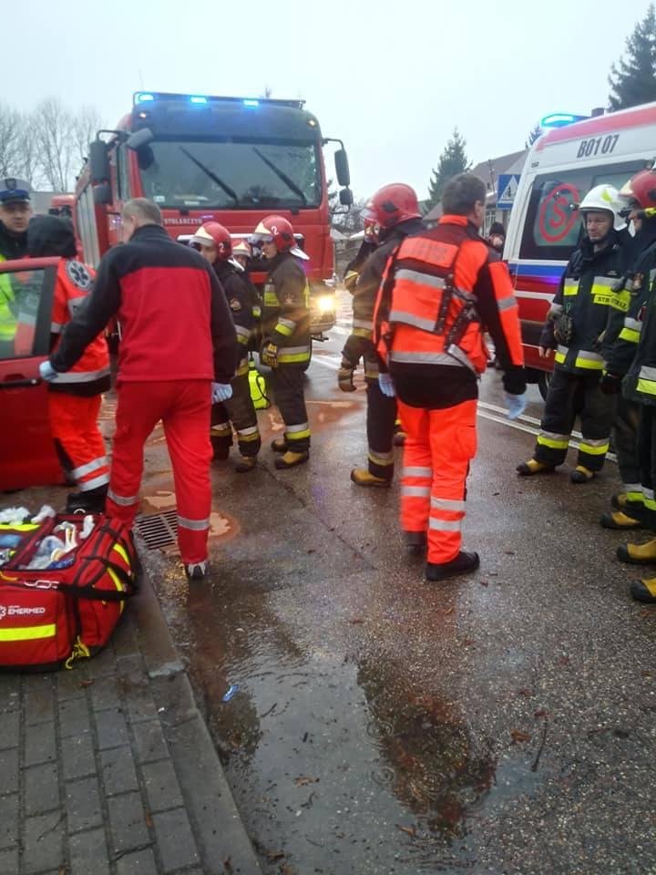 W czwartek około godz. 13 doszło do wypadku na ulicy Emilii Plater w Wasilkowie.
