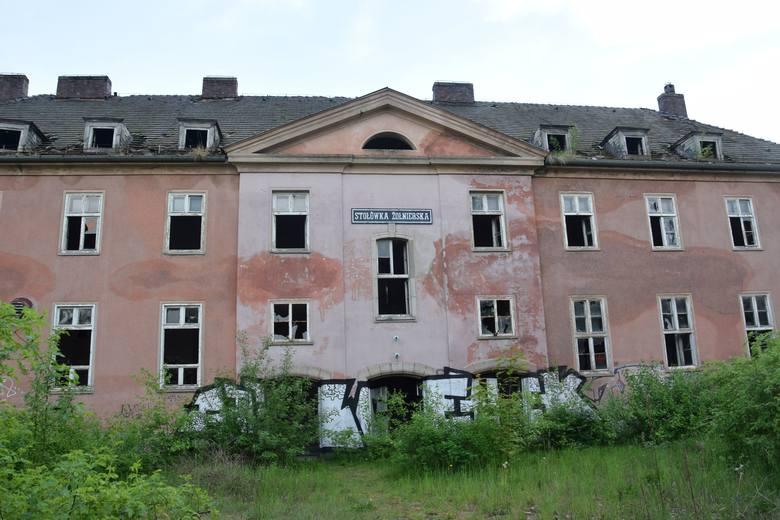 Koszary w Koźlu.