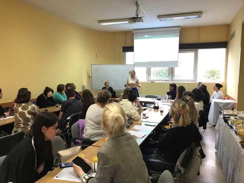 Udział w konferencji wzięli przedstawiciele opolskiej WSZiA oraz pięciu uczelni z Ukrainy.