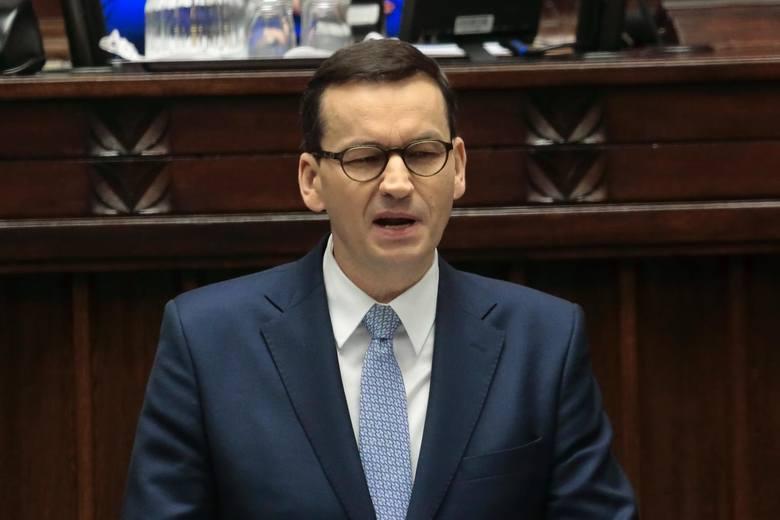 Expose premiera Mateusza Morawieckiego we wtorek 19 listopada 2019