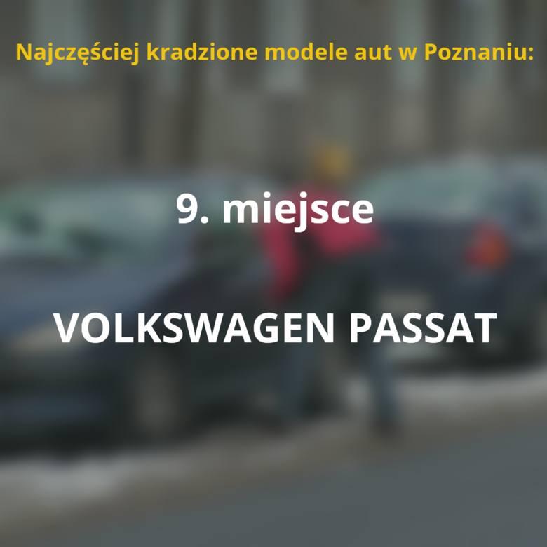 Oto, jakie samochody najczęściej padają łupem złodziei w Poznaniu. Sprawdź, czy Twój model jest na liście!Przejdź do kolejnego slajdu --->