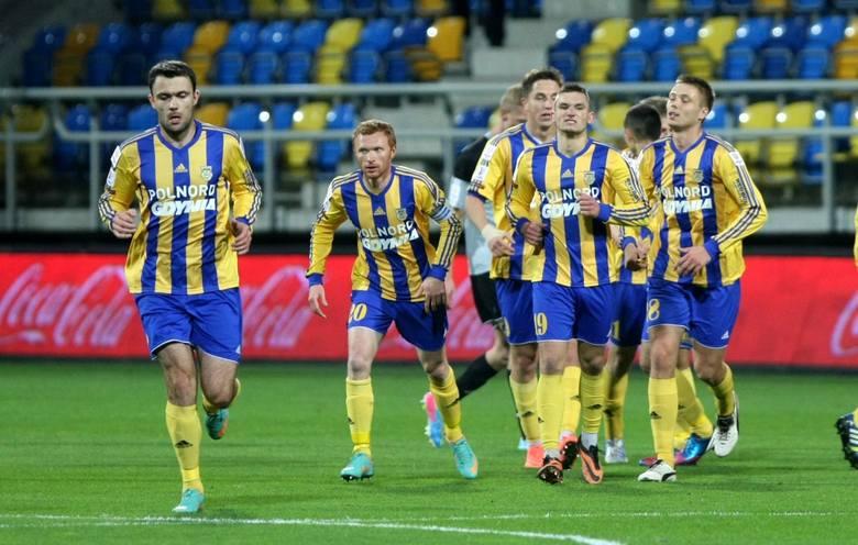 Piłkarze Arki Gdynia: Dołek mamy za sobą, jesteśmy już w czubie [WIDEO]