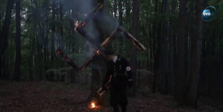 Naziści w lesie koło Wodzisławia świętowali urodziny Hitlera