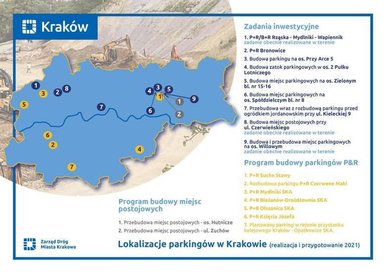 Kraków. Nowe plany parkingowe miasta. Nadbudują park&ride na Ruczaju. Zobacz, gdzie mają powstać miejsca postojowe dla aut