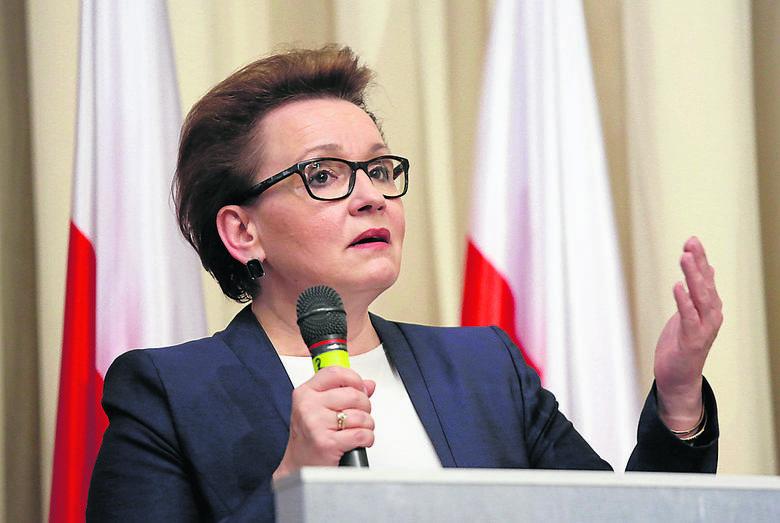 Anna Zalewska: - Chcemy wprowadzić reformę, która została  przemyślana i rozłożona na wiele lat.