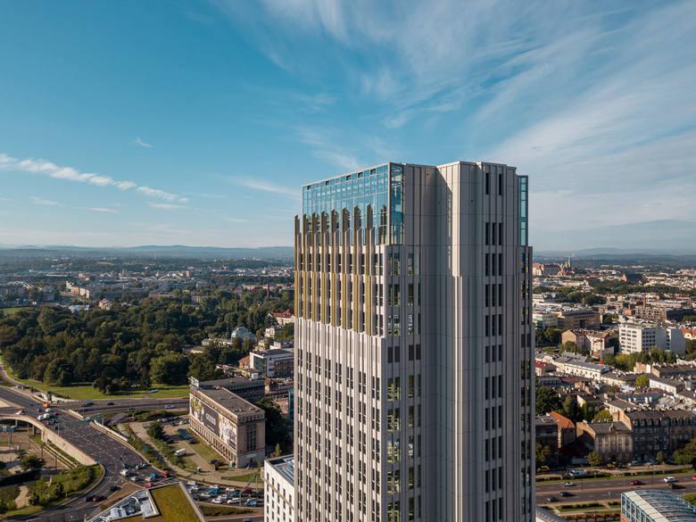 Kraków. Do wylicytowania niecodzienne widoki. Zwiedzanie najwyższego budynku na aukcji Wielkiej Orkiestry Świątecznej Pomocy [ZDJĘCIA]