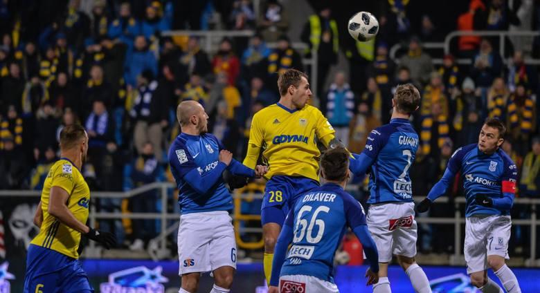Arka Gdynia wywalczyła punkt w meczu z Lechem Poznań, ale można było zdziałać więcej