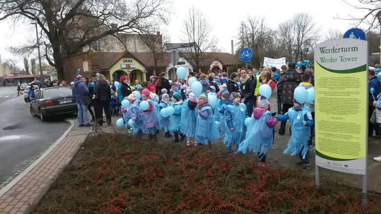 marsz dla autyzmu Gubin