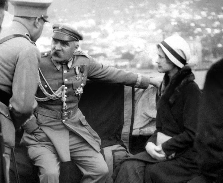Józef Piłsudski na Maderze z Eugenią Lewicką, rok 1930