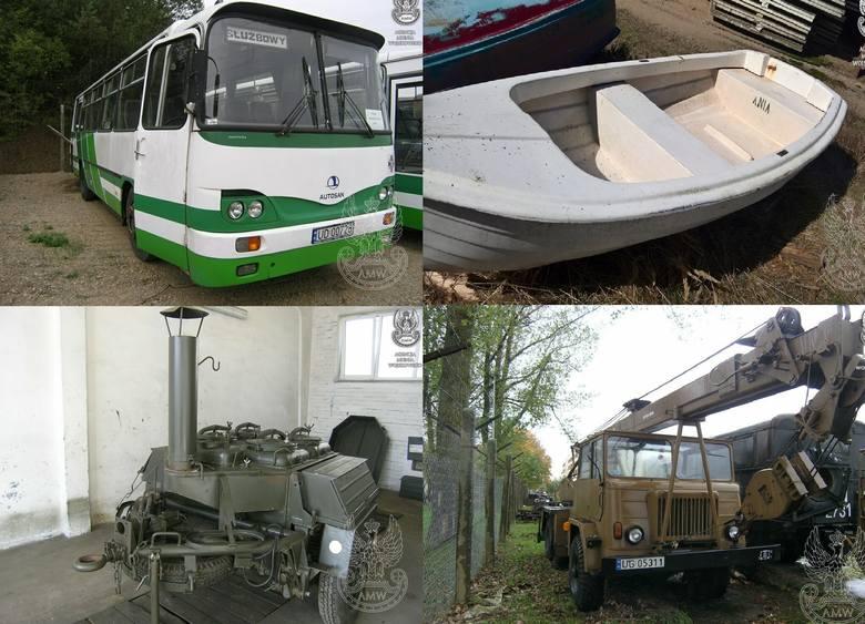 Agencja Mienia Wojskowego w Szczecinie organizuje przetarg na sprzedaż sprzętu wojskowego. Przetarg odbędzie się 19 lipca o godzinie 12 w Oddziale Regionalnym