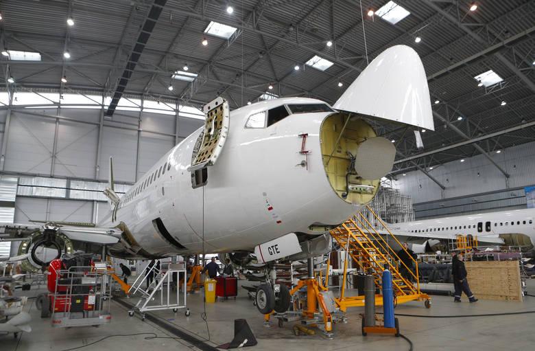 Największy hangar w Europie Środkowo-Wschodniej znajduje się na lotnisku w Jasionce. Samoloty kilkudziesięciu przewoźników z całego świata serwisuje