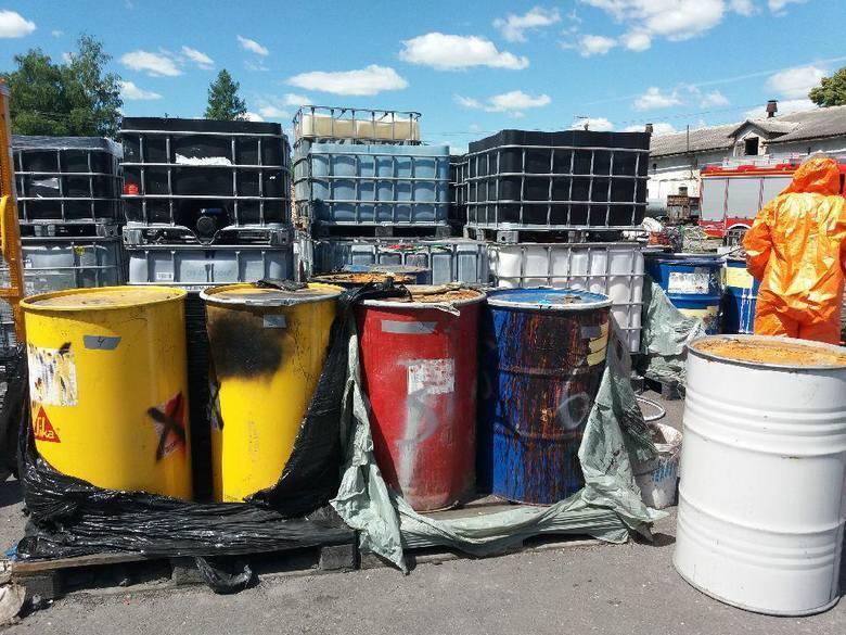 Nielegalne składowisko niebezpiecznych odpadów przy ulicy Okrężnej w Toruniu, zostało zlikwidowane. Jak informuje Radio Pomorza i Kujaw, chemikalia trafiły