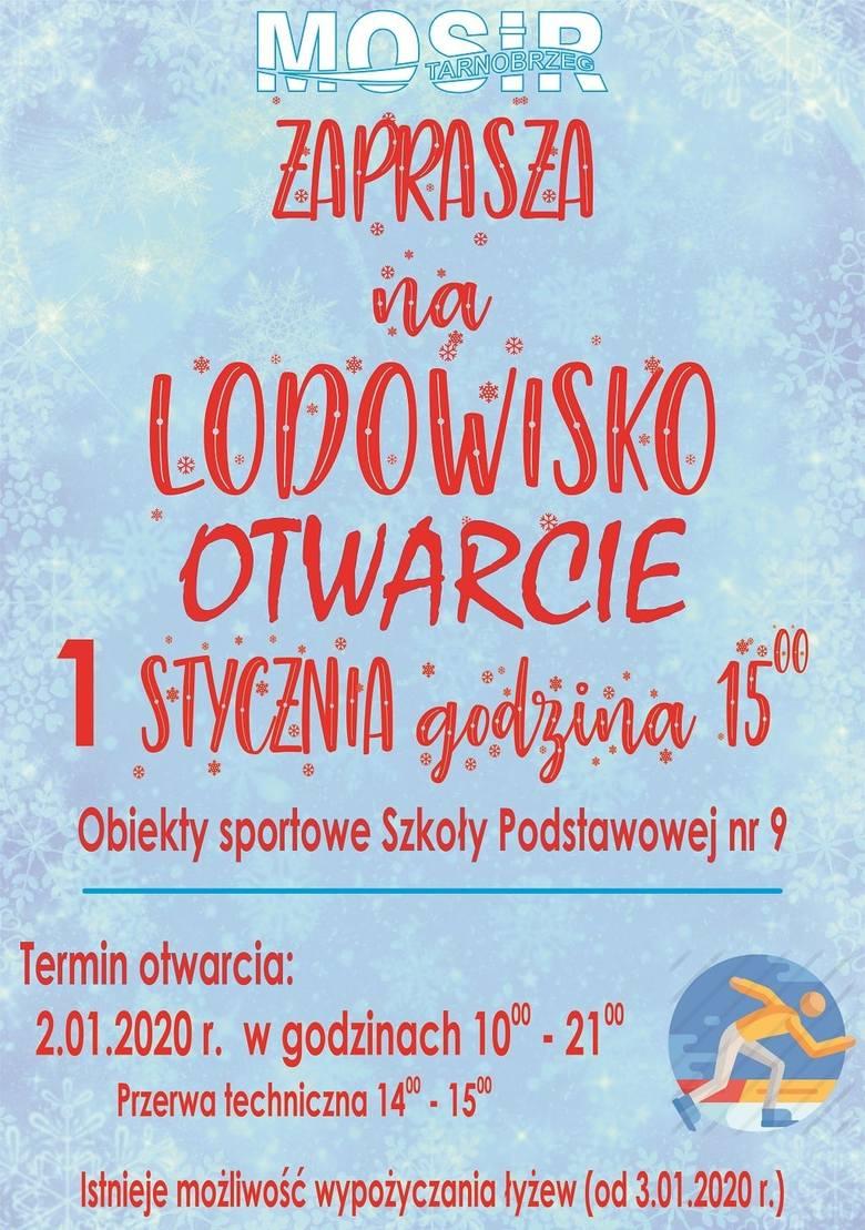 Lodowisko w Tarnobrzegu będzie czynne od 1 stycznia. Jazda jest darmowa