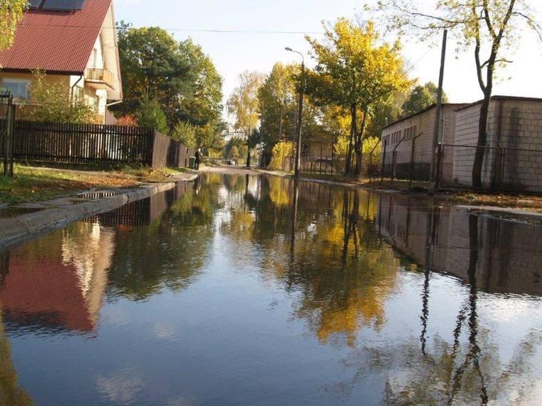 Ulice pod wodą