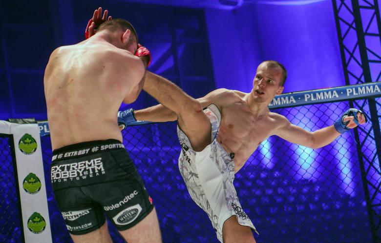Noc MMA - 79 Gala PLMMA w Rzeszowie.