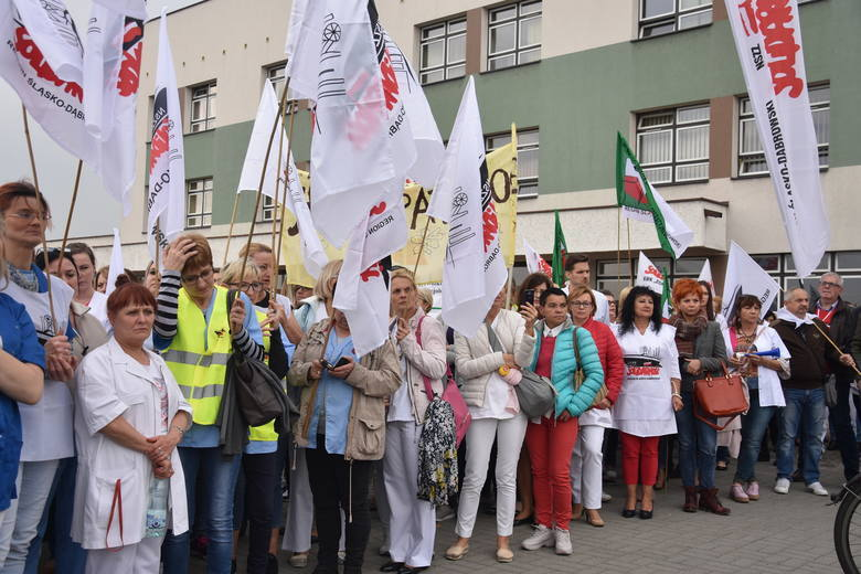 Dyrekcja szpitala przychyliła się do postulatów protestujących w zakresie uregulowania norm warunków pracy