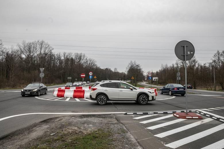 Nowe rondo na skrzyżowaniu Jasnogórskiej, Gaik i Ojcowskiej