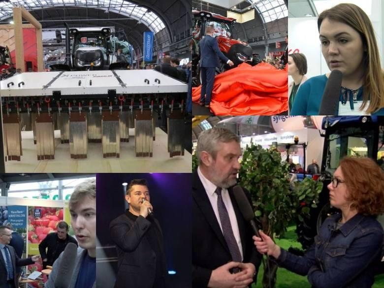Targi Agrotech w Kielcach wypełnione po brzegi nowościami wśród ciągników, kombajnów i maszyn, producenci nawozów wprowadzają nowe pomysły i aplikacje,