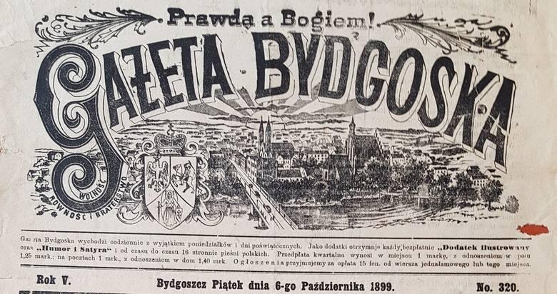 """Nie do wiary - te ogłoszenia mają ponad 100 lat i pochodzą z archiwalnych wydań """"Gazety Bydgoskiej"""" z końca XIX wieku. Zobaczcie unikalne"""