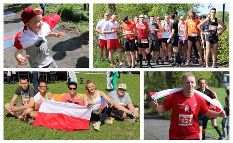 Około 180 uczestników wystartowało w Biało-Czerwonym Biegu, który odbył się w związku z przypadającym w tym roku 100-leciem odzyskania niepodległości