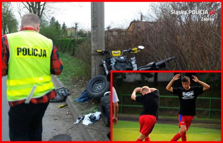 Były zawodnik MSPN Górnik Zabrze (na małym zdjęciu) jest obecnie w stanie śpiączki. Piłkarz 2-ligowej Legionovii Legionovo Daniel Kutarba doznał bardzo