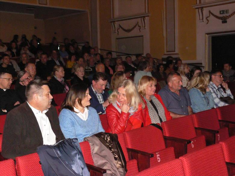 Na widowni był między innymi Wojciech Czerwiec, przewodniczący Rady Miasta.