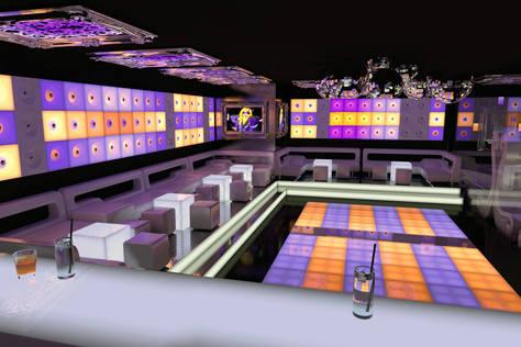 Teatr Rozrywki Pomarańcza będzie jedną z największych dyskotek w Polsce (wizualizacja).