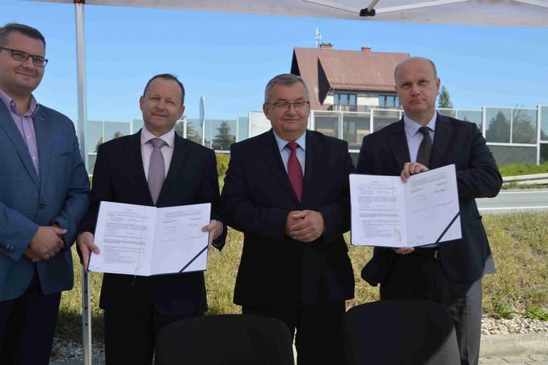 Zakopianka Rdzawka-Nowy Targ. Podpisali umowę na budowę drogi [ZDJĘCIA, WIZUALIZACJE]