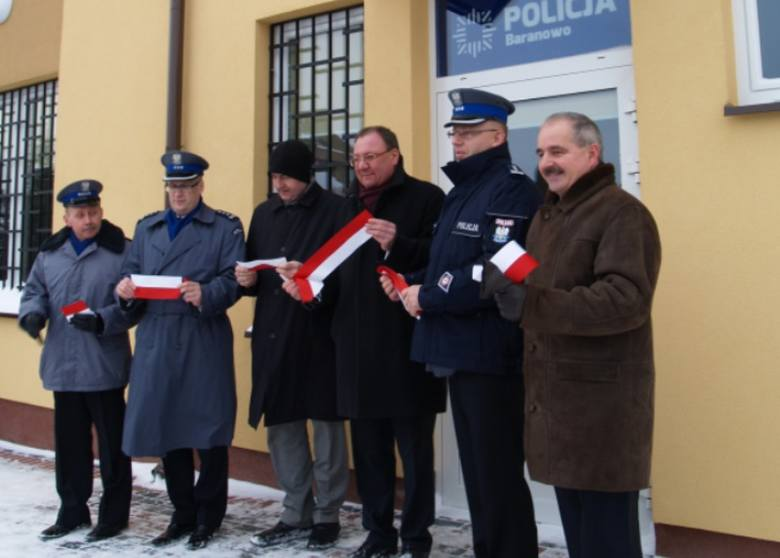 Otwarcie posterunku policji w Baranowie