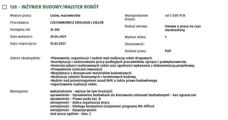 Zobacz oferty pracy w powiecie radomskim. Ile dają zarobić pracodawcy i jakich pracowników poszukują?