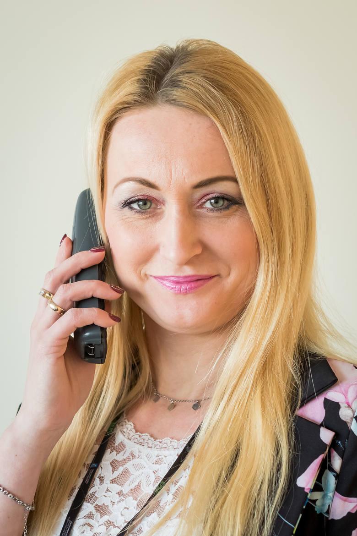 Na pytania odpowiadała Beata Wodzińska, naczelnik z bydgoskiego Oddziału ZUS