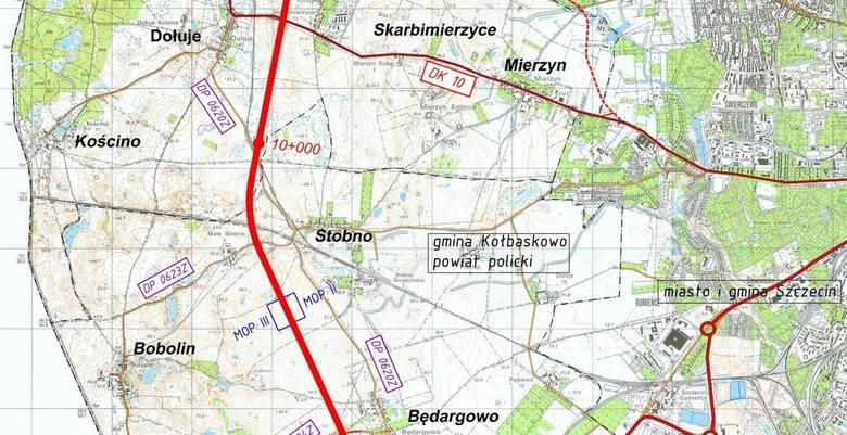 W rejonie Stobna zaplanowano Miejsce Obsługi Podróżnych
