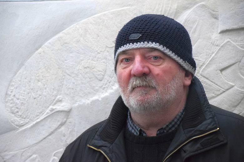 Andrzej Muszyński tworzy białoryty