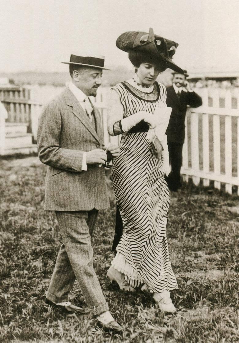 Gabriele D'Annunzio i Ida Rubinstein w 1911 r.