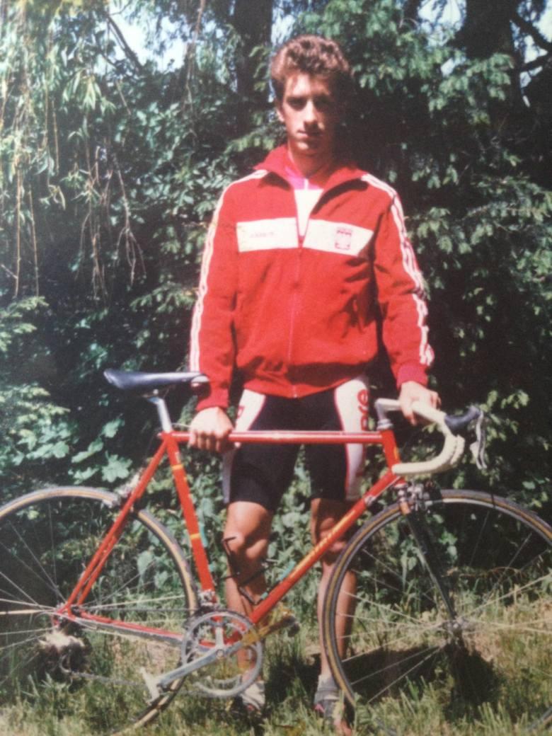 Grzegorz Piwowarski - kolarz, drużynowy i indywidualny mistrz Polski