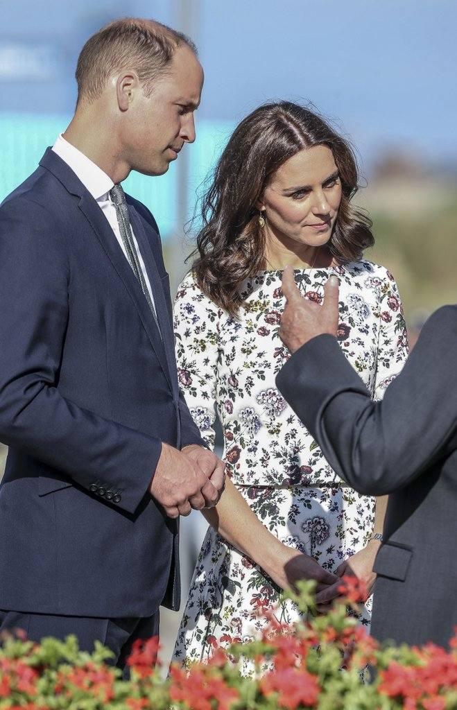 Spotkanie Kate i Williama z Lechem Wałęsą, 18.07.2017