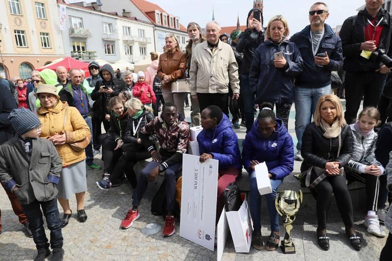05.05.2019 bialystok  bialystok  7. pko bialystok polmaraton  fot. anatol chomicz / gazeta wspolczesna / kurier poranny / polska press
