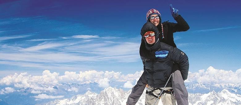 Wojtek Kozub zginął siedem lat temu na Mont Blanc. Wcześniej był na tej górze wielokrotnie, w tym dwa razy z Pauliną