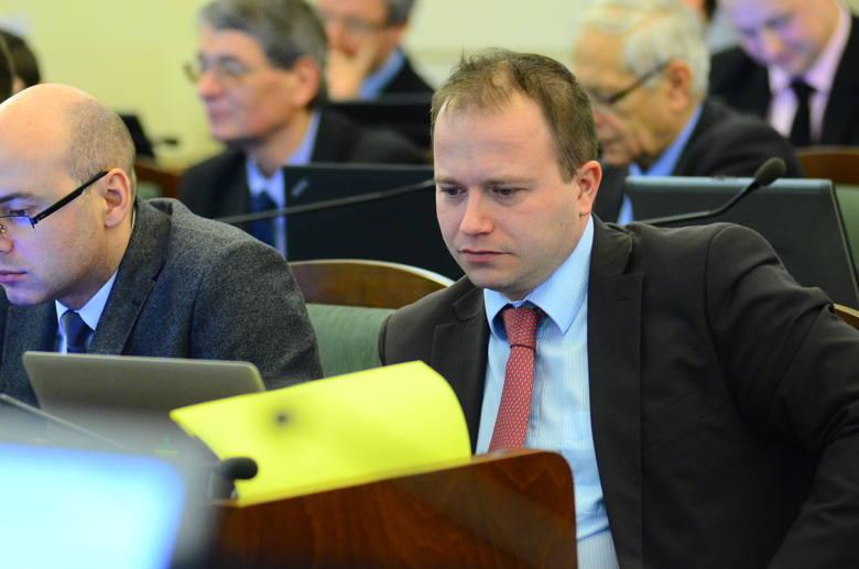 Jakub Jędrzejewski, szef komisji kultury fizycznej i turystyki Rady Miasta