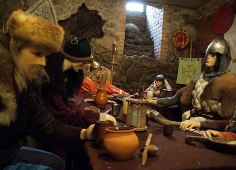 Podziemia kruszwickiego zamku otwarte dla turystów [zdjęcia]