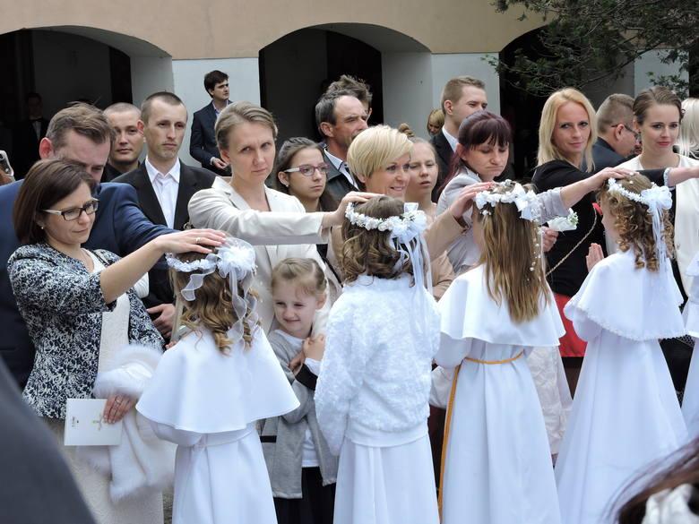 Tak wyglądała komunia w Klasztorze w Ostrołęce (ZDJĘCIA)
