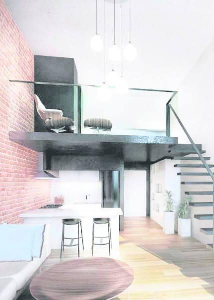 Jeden z apartamentów nowego budynku