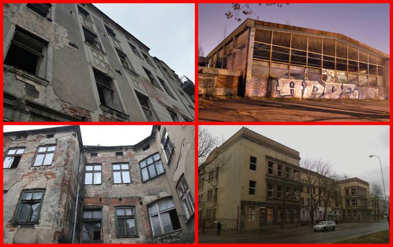 Niestety nie da się ukryć, że w Łodzi wciąż  są miejsca, w których śmiało można kręcić filmy wojenne, filmy grozy i nie trzeba wiele pracy przy organizacji