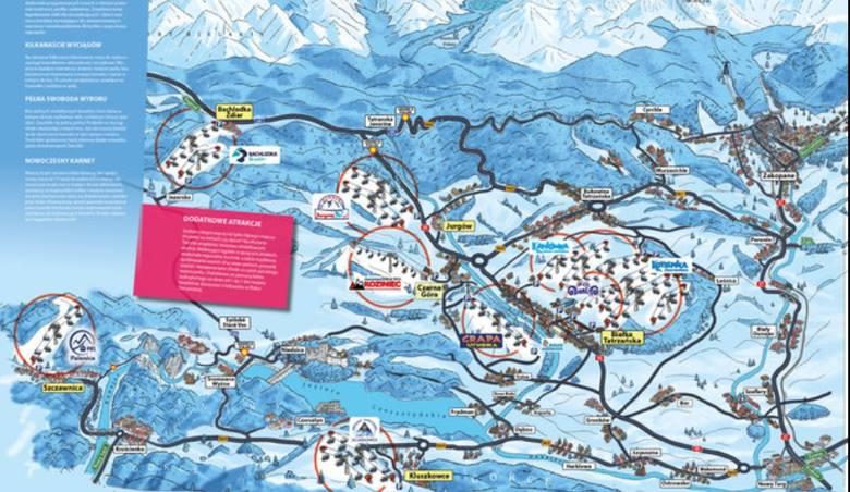 """Porada nr 1 Podczas narciarskiego urlopu wcale nie musimy ograniczać się do jednego ośrodka. Tym bardziej, że stoki w """"Dolinie Białki"""" połączone są jednym"""