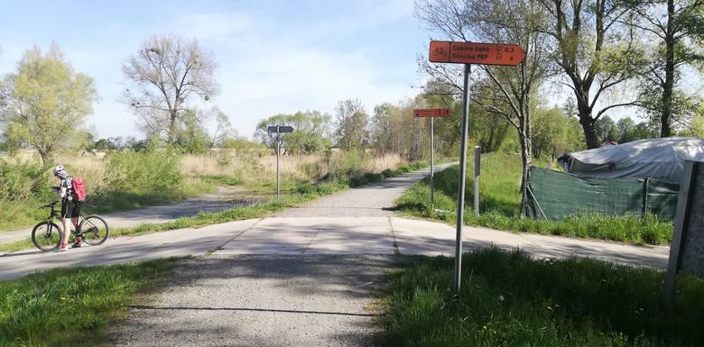Droga rowerowa do Lubczyny czeka na projekt. Rowerzyści i tak już jeżdżą
