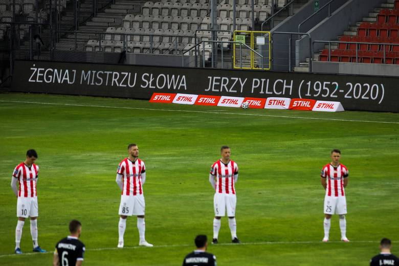 Pożegnanie Jerzego Pilcha na stadionie Cracovii 31.05.2020