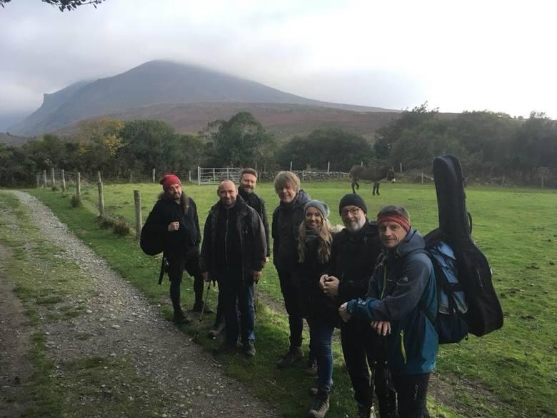 Zespół Carrantuohill w drodze na szczyt
